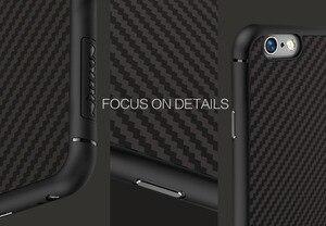 Image 3 - Karbon fiber iphone için kılıf 6 6 s konut Nillkin Sentetik elyaf arka kapak durumda silikon PP geri shell coque iphone 6 plus