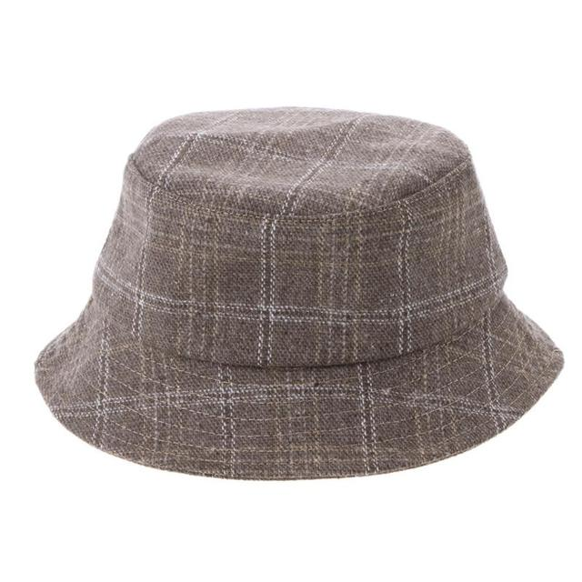 Vintage Men Women Plaid Bucket Hat Casual Fisherman Cap Foldable Hat All  Seasons Fashionable Outdoor Street Travel Sun Hat Gift 839e7f03ae3