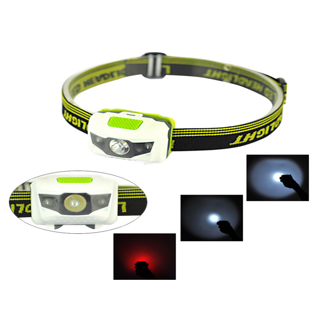 Mini 2 Modes Waterproof 160Lm CREE R3 LED Flashlight outdoors Headlight Headlamp head light lamp Torch Lanterna with Headband