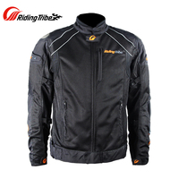 Riding Tribe Summer Motorcycle Jacket Breathable Waterproof Windproof Motocross Off Road Moto Armor Jacket With Linner