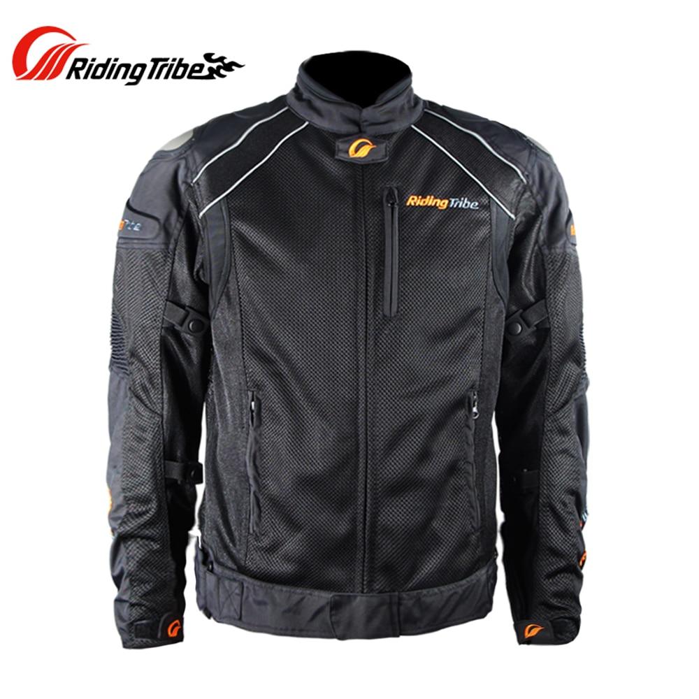 Riding Tribe Summer Motorcycle Jacket Breathable Waterproof Windproof Motocross Off-Road Moto Armor Jacket with Linner JK-30 цены онлайн