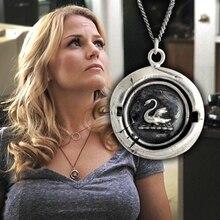 Модное ожерелье кулон Once Upon a Time Emma Swan подарок дизайн ювелирного ожерелья для женщин Прямая поставка