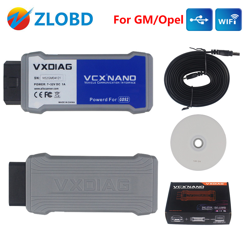 VXDIAG with USB/WIFI VXDIAG FORGM/OPEL VXDIAG VCX NANO Multiple GDS2 and TIS2WEB Diagnostic/Programe VXDIAG VCX In Stock