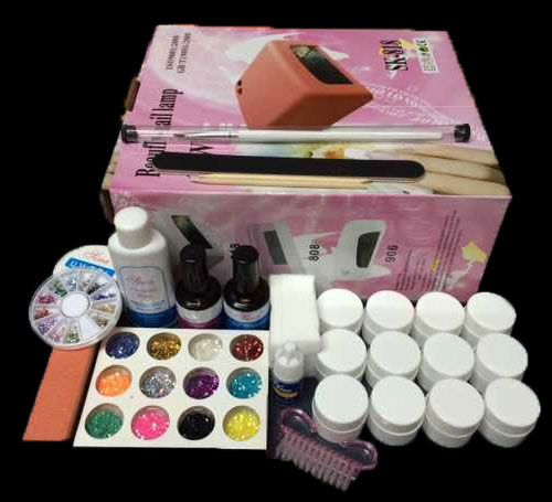 FT-123 free shipping Pro Full 36W White Cure Lamp Dryer & 12 Color UV Gel Nail Art Tools Sets Kits 2013 r3 with keygen vd tcs cdp pro plus bluetooth auto diagnostic tools full all 8 car cables dhl free shipping
