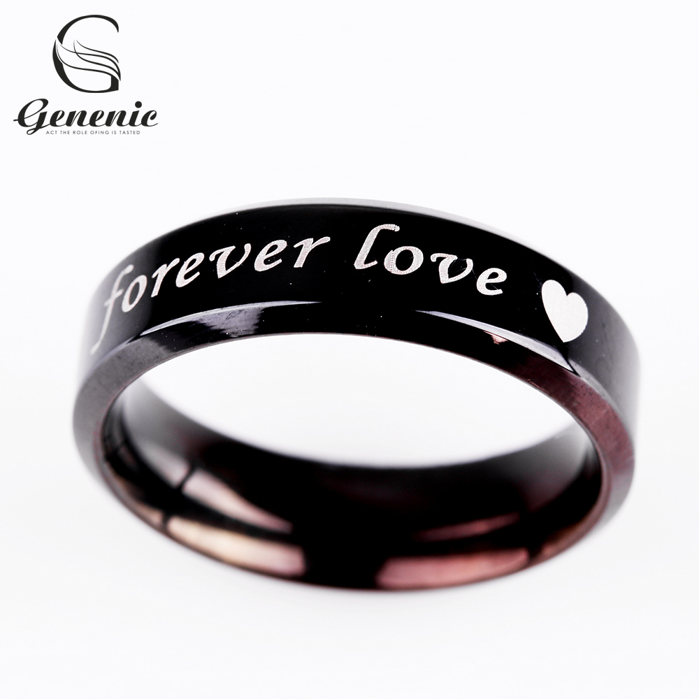 Aliexpress.com : Buy 1 Pc Forever lover Steel Couple Rings ...