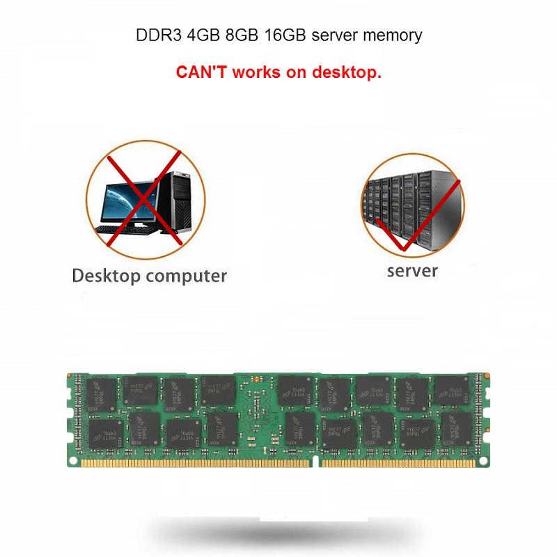 Kllisre DDR3 4 ГБ 8 ГБ 16 ГБ 32 ГБ ECC Серверная память 1333 1600 1866 МГц dimm REG ram поддерживает материнскую плату X58 X79