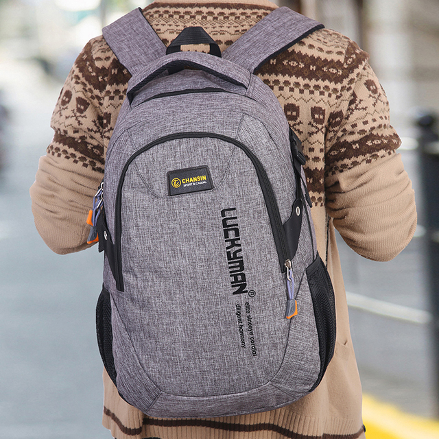Unisex School Bag Waterproof Nylon Brand New Schoolbag Business Men Women Backpack Polyester Bag Shoulder Bags Computer Packsack 3