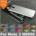 Note3 Luxury Brushed Aluminum + Brushed Battery back case For samsung galaxy note 3 n9000 cover
