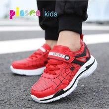 24f59258f PINSEN nuevo Spiderman niños Zapatos Zapatillas de deporte para niños  zapatos de los niños zapatos de niñas de moda Casual de de.
