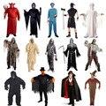 Взрослые Мужчины Женщины Hallomas Костюмы Террорист Одежда Призрак Dead Зомби Косплей Костюм Хэллоуин Поставок
