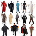 Adults Men Women Hallomas Costumes Terrorist Clothing Ghost Dead Zombie Cosplay Costume Halloween Supplies