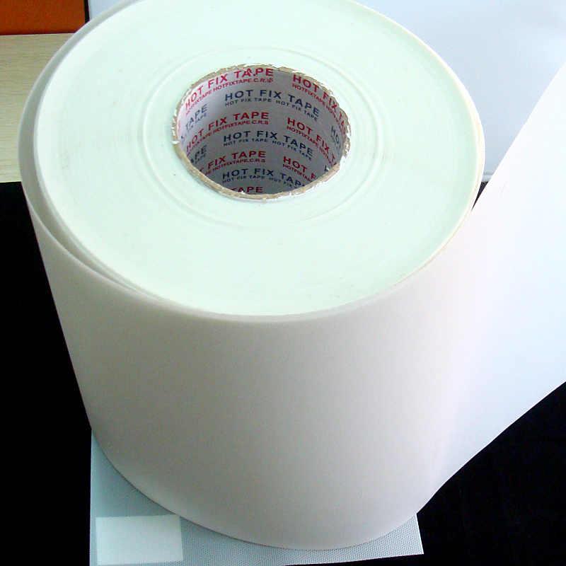 Semua Ukuran Panas Memperbaiki Kertas & Pita Silikon Perekat Besi Pada Transfer Panas Film Hotfix Rhinestone DIY Alat Y2855