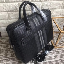 leather bag briefcase braided 2019 Mens business Handbag men cowhide  Embr oidery Briefcase