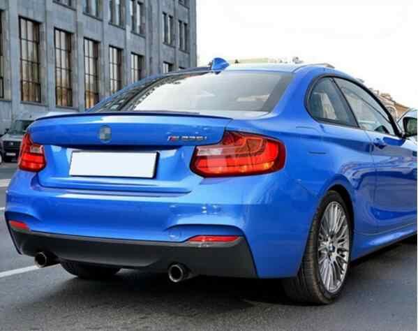 M2 スタイルカーボン翼トランクリップ BMW のための 2 シリーズ F22 228i 220i M235i 2014 2015 2016 2017 2018 2019