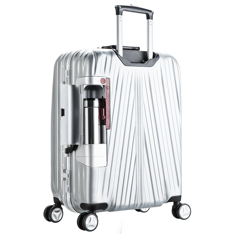20'' 24'' ABS PC TSA Lock Aluminium Frame suitcase maleta trolley valise koffer bavul luggage mala