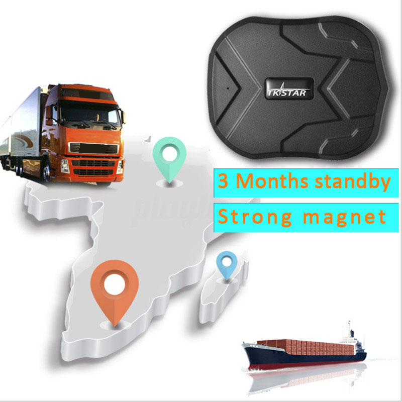 Car GPS Tracker Long Battery Standby 90 Days Vehicle Locator for Car Vehicle Map Waterproof Magnet Tracker Real Time