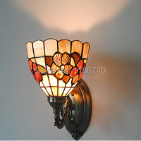 Antique Inspired Wall Light In Style Floral Patterned Vintage Wall Lamp Contains LED Bulbs Free Shipping