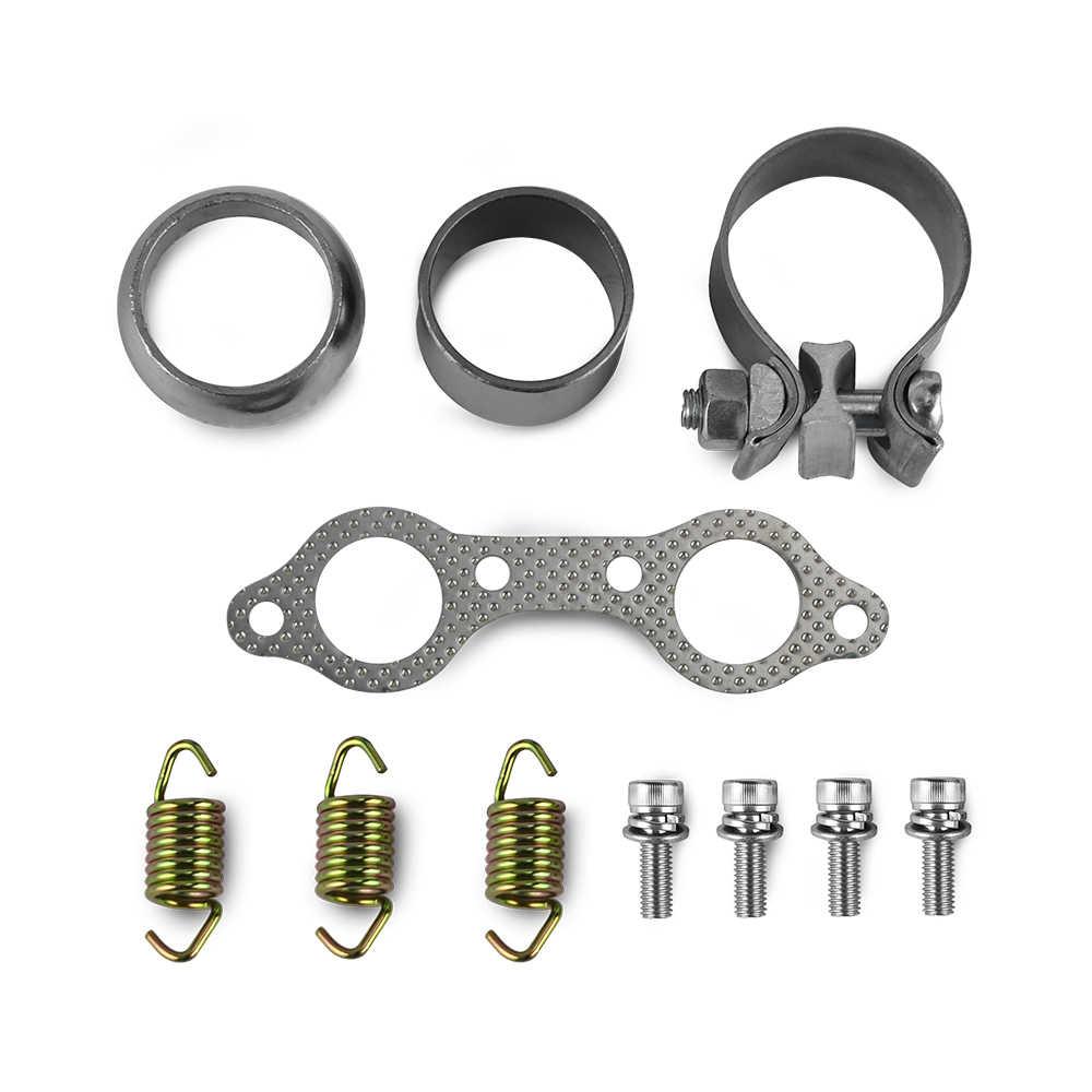 Exhaust Manifold Gasket Seal Spring Clamp Rebuild Kit For Polaris RZR S 800 EFI