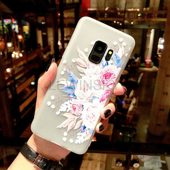 Galaxy S9 Floral Flower Garden Pattern Printed Back Case with TPU