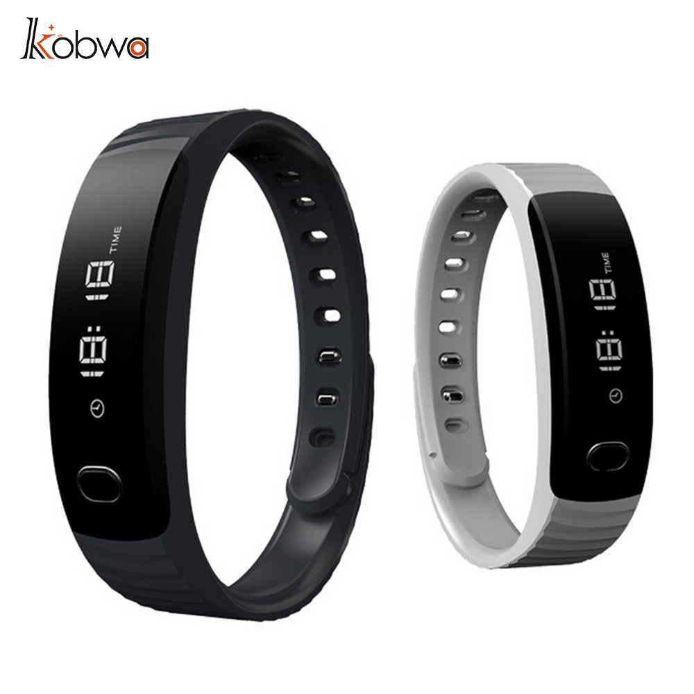 kobwa H8 Bluetooth Smartwristband Bracelet Pedometer Fitness Tracker Sedentary Sleep Monitor Smartband For iOS Android Phone