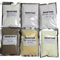 50g * 6 24 K Oro Máscara de Colágeno Ácido Hialurónico-80% Pearl-Polvo de Chocolate-Lavanda Peel Off Máscara Facial Spa De Lujo