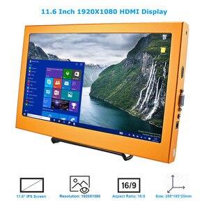Image 3 - Elecrow 11.6 Cal LCD ekran 1920x1080 HDMI Xbox360 monitor dla Raspberry Pi 3 B 2B B + Windows 7 8 10