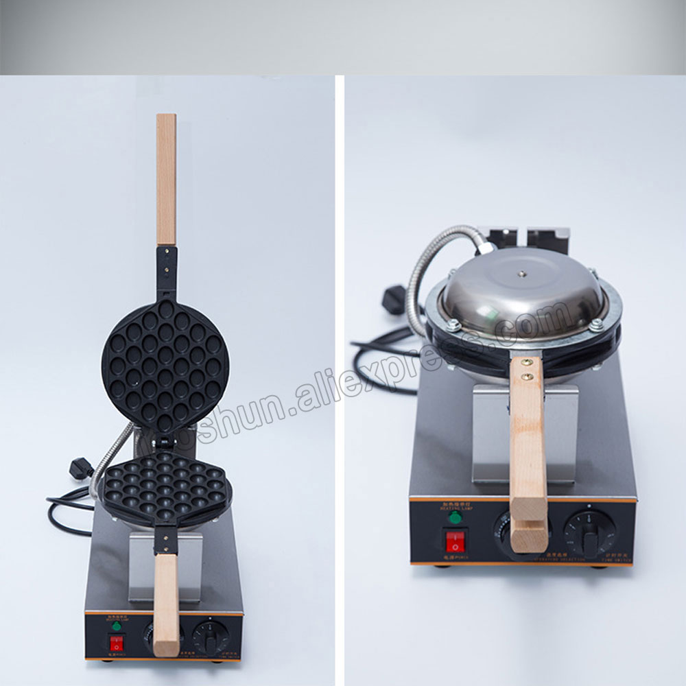 Kommerzielle elektrische 220 V/110 V Hong Kong eggettes puff kuchen ...