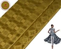 Bronze Feitex 2018 New Arrival Wholesale Bazin Riche Shadda Guinea Brocade Fabric For Women Men