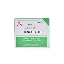 100 Pcs Acupuncture Needles Stainless Steel Beauty Massage Needle Healt