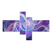 Звезды Современная живопись стены искусства украшения дома подарок 4 панели Многоцветная Картина по номеру украшения дома аксессуары Пода