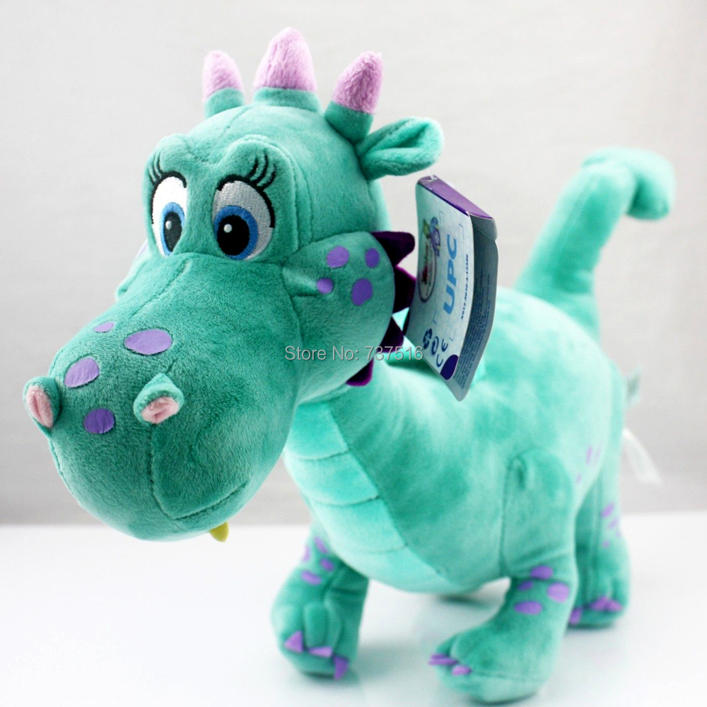 Brand New Crackle the Dragon plush From Sofia the First show 12 baby toys for children Stuffed & Plush Animals the new children s cubs hat qiu dong with cartoon animals knitting wool cap and pile