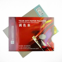 36 Sheets Watercolor Tear Off Palette Paper Oil Paiting Palette Art Alternatives Paint Tray Artist Supply White Free Cleaning axl usa sro artist off white