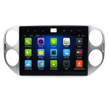 10,2 «4G LTE android 8,1 автомобильный dvd 2 din мультимедийный плеер для Volkswagen VW Tiguan 2011 2012 2013 2014 магнитофон Авторадио gps
