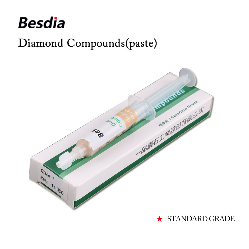 Купить с кэшбэком Taiwan Besdia Diamond Compound Paste Polishing Lapping Standard Grade