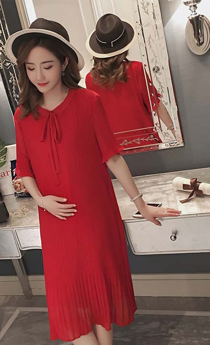 Retail Summer pregnant women wearing clothing Chiffon casual clothes mother wear 1LDDS-91RR [Eleven Story]