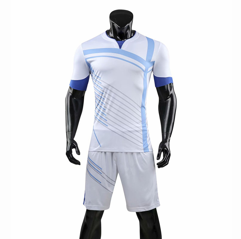 Men's Stripe Soccer Jerseys Men Blank Football Adult Trainning Uniforms Running Customize Logos