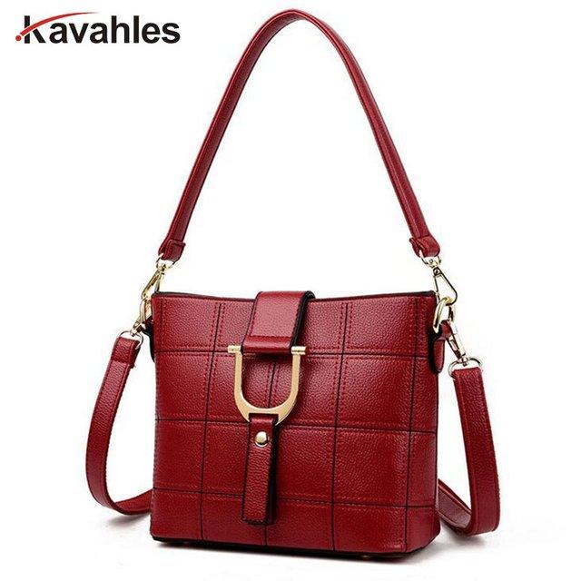 a52ccff086 Femmes Sac de luxe marque Sac Femme Vintage Sac à bandoulière femmes en cuir  sacs à