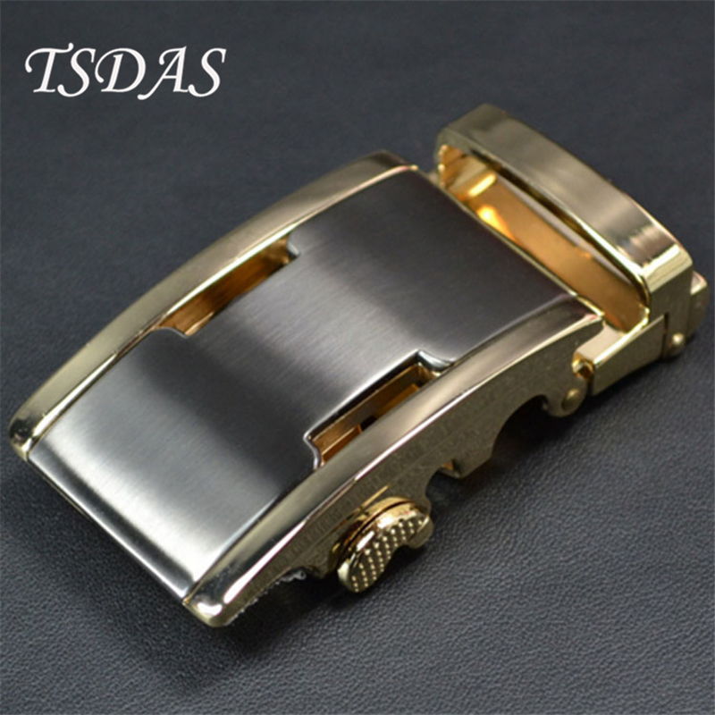 Moda Cinto de Fivela de Metal Para Cinto Masculino Fivela Automática Cabeça Terno Casual Fit Para 3.4-3.6 centímetros Cinto