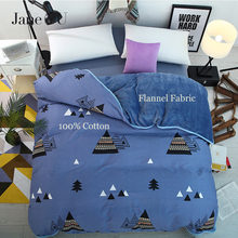 JaneYU 100% Cotton +flannel  Multifunction AB Both Sides Now Winter 24 Colors Duvet Cover sleeping Bags King Size