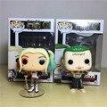 Funko Pop do Esquadrão Suicida DEADSHOT A Joker Harley Quinn PVC 10 CM Figura de Ação de Super-heróis Coleção Modelo Filme Crianças brinquedos
