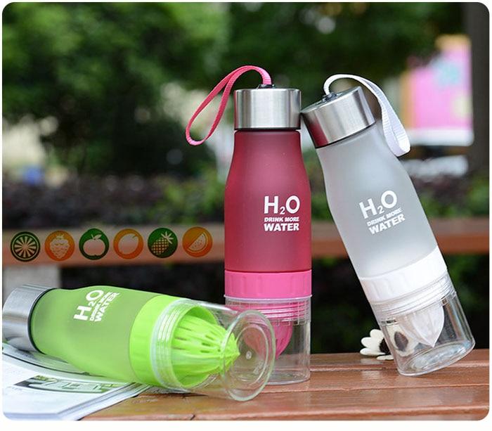HTB1WBzTkTlYBeNjSszcq6zwhFXaD Transhome Creative Fruit Infuser Water Bottle 650ml Portable Plastic Water Bottle For Lemon Juice Sport Drinking Water Bottles