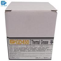 GD Marca Dissipatore di Calore GD450 Termico Conduttivo Grasso Composto Pasta di Silicone Intonaco Peso Netto 1000 Grammi D'oro Per LED CN1000