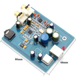Image 3 - HIFI ES9018K2M SA9023 USB DAC Decoder board Externe Karte Unterstützung 24Bit 92 k für audio Verstärker A10 018