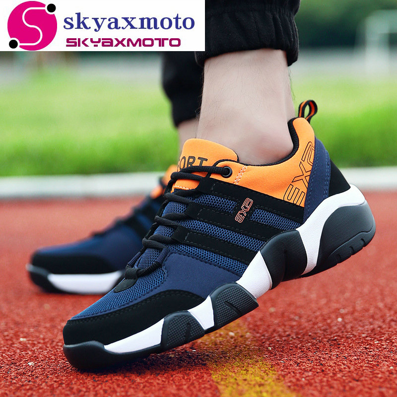 Plus Size 38-47 2018 Sneakers for Men Autumn Running Shoes Outdoor Sport Mens Shoes Male Walking Shoe