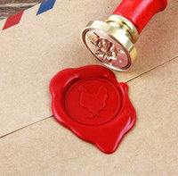 Hen Wax Seal Stamp Easter Day Sealing Wax Seal Wax Stamp