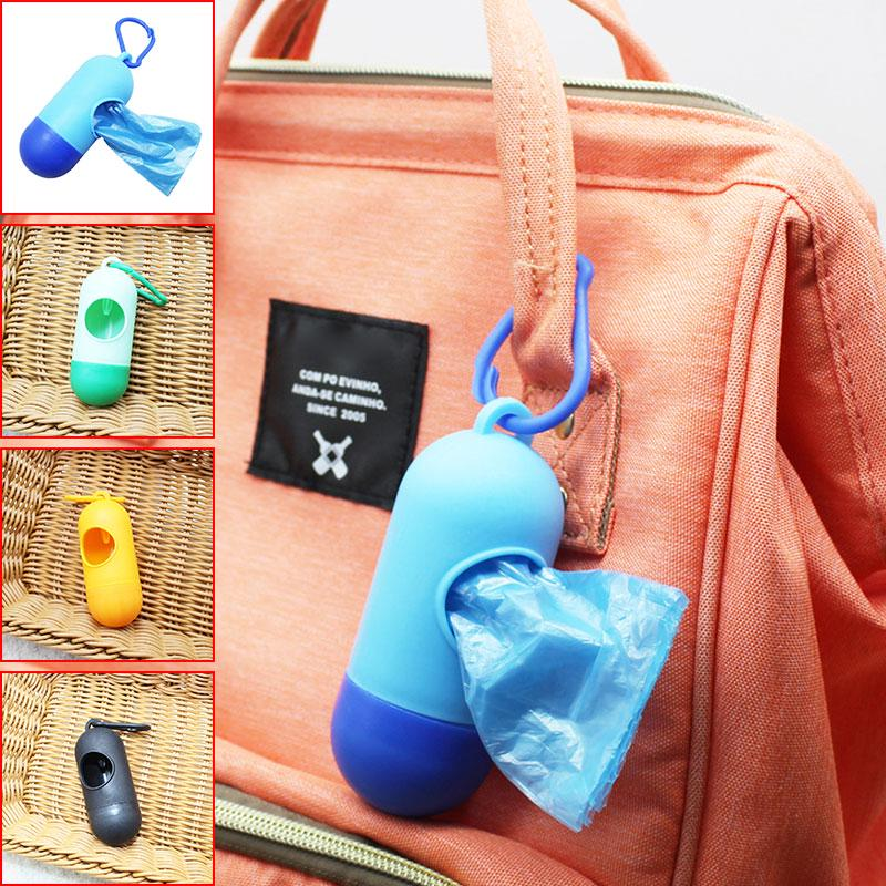 Hot Sale 1/2/4pcs Plastic Small Portable Baby Diapers Bags Rubbish Bags Garbage Bag Removable Box Nappy Bag