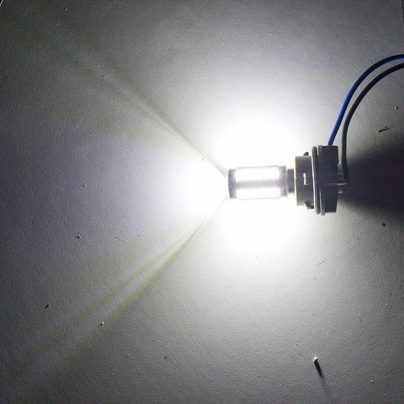 חלקי חילוף bauknecht ASLENT 1157 P21 / 5W BAY15D סופר ברייט 33 SMD 5630 5730 בלם אוטומטי LED אורות בשעות היום מכונית ערפל המנורה פועל להפסיק נורות 12V (4)