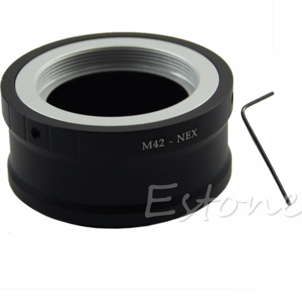 Adapter Converter E-Mount NEX-3 Sony Nex New M42 Screw-Camera-Lens Nex-Vg10-L060