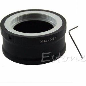 Image 1 - M42 בורג מצלמה עדשת ממיר מתאם עבור SONY NEX E הר NEX 5 NEX 3 NEX VG10   L060 חדש חם