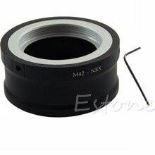 M42 Vis Caméra Lentille Adaptateur Convertisseur Pour SONY NEX E Mont NEX 5 NEX 3 NEX VG10   L060 Nouveau chaud